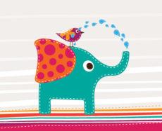 cute_elephant_and_bird